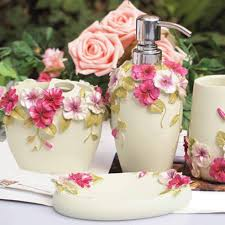 Shabby Chic Bathrooms Ideas Chic Bathroom Accessories