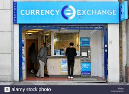 bureau de change international currency exchange retail booth atm