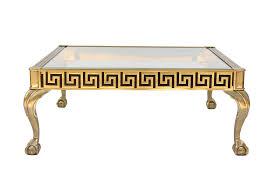 Brass Coffee Table by Mastercraft Vintage Greek Key Brass Coffee Table Chairish