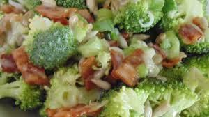 bacon sunflower seeds bacon broccoli salad with raisins and sunflower seeds recipe
