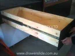 drawer slide locking mechanism d w drawer slide lock in lock out feature