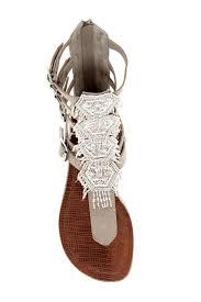 carlos by carlos santana taos beaded gladiator sandal