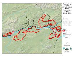 Wildfire Yukon by Tanana Area Fires Update July 30 Ak Fire Info