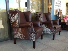 Western Leather Chair Ooo La La What A Great Idea For The Chair I Want To Re Upholster