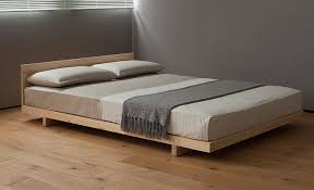 How To Build A Solid Wood Platform Bed by Attic Bedrooms Low Loft Beds Natural Bed Company