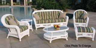 Patio Furniture Resin Wicker by Wicker Patio Furniture Set Home Outdoor