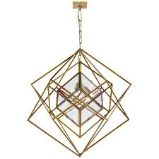 Geometric Pendant Light by Geometric Chandelier Lighting Musethecollective