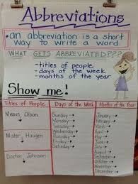 abbreviations worksheet second grade worksheets activities