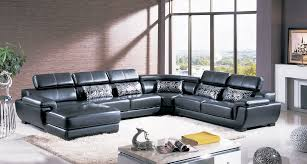Designer Sectional Sofas by Designer Quality Leather 4 Pcs Sectional Sofa Furnicity