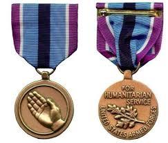 korean service ribbon humanitarian service medal