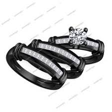 black wedding rings his and hers black wedding rings his and hers beautiful engagement rings