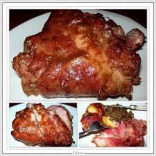 cuisiner un jambonneau jambonneau braisé pommes de terre au lard fumé et lentilles vertes