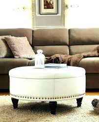 Using An Ottoman As A Coffee Table Square Upholstered Ottoman Fancy Upholstered Coffee Table Ottoman