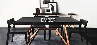 Ember Table Ember Collection Of Lifestyle Furniture Bois U0026 Cuir