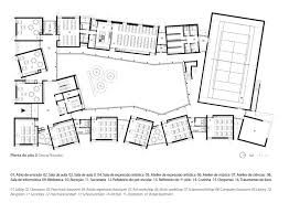Plan Ground Floor Gallery Of Sobrosa Cnll 9
