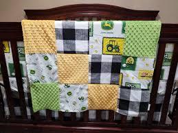 Tractor Crib Bedding Boy Crib Bedding Deere Tractor Farm Dbc Baby Bedding Co