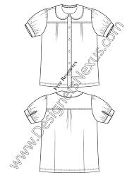free illustrator fashion flat sketches childrens apparel