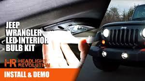 jeep wrangler map light replacement 07 17 jeep wrangler jk led interior bulb kit install canbus