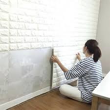 Peel And Stick Wallpaper Tiles | peel and stick wallpaper peel stick wallpaper brick design sheets