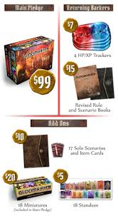 gloomhaven second printing by isaac childres u2014 kickstarter