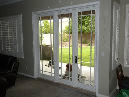 Replacing Patio Door Pella Sliding Glass Doors With Black Ceramic Floor 1172 Latest