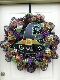 210 best halloween mesh wreaths images on pinterest crowns
