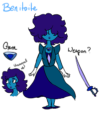 benitoite drawing benitoite s u fan character by fluff bomb360 on deviantart