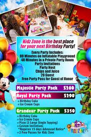inflatable kingdom kidz zone