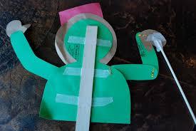 how to make a rod u0026 stick puppet