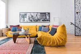 canapé ligne roset togo ligne roset jaune