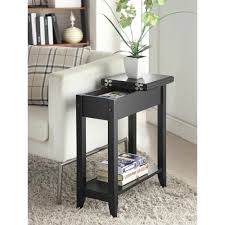 tall side table with drawers american heritage flip top tall side table multiple colors ebay