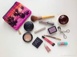 what u0027s in my travel makeup bag travel makeup bags makeup items