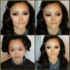 before and after makeup transformation for asian contouring and highlighting by me more work check