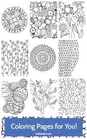 awesome new coloring pages for adults u2022 craftwhack