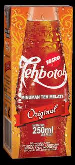 Teh Botol Sosro Kotak 1 Dus teh botol kotak sosro 250 ml makanan minuman minuman tidak