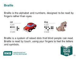 How Do Blind People Read Braille 1 Read For Rnib Day 2 Rnib The Royal National Institute Of Blind