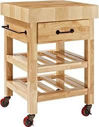 crosley furniture kitchen cart crosley furniture marston butcher block rolling