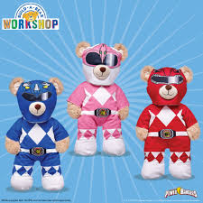 power rangers x build a bear figures com