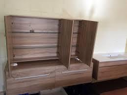 Glass Shelves For Medicine Cabinet Shave 750mm White Gloss Polyurethane Pencil Edge Mirror Shaving