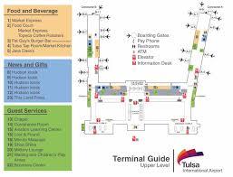tulsa airport map construction begins tomorrow on the tulsa international