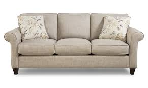 Sofa Styles 742100 Transitional Sofa With Sock Rolled Arms By Craftmaster