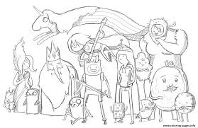 printable adventure time s7456 coloring pages printable