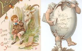 images of victorian christmas cards 21 victorian christmas cards that suggest our ancestors were deeply