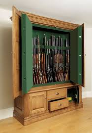 wooden gun cabinets cheap desk and cabinet decoration