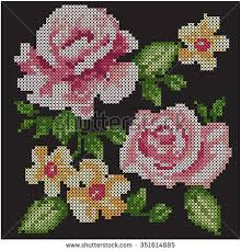 cross stitch stock images royalty free images vectors