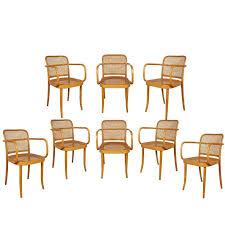 Bentwood Dining Chair Set Of Eight Josef Hoffmann U0027prague U0027 Bentwood Dining Chairs