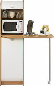 panier tournant pour meuble cuisine colonne de rangement à rideau avec plateau pivotant blanc hêtre