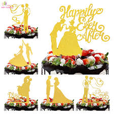 aliexpress com buy hey funny gold acrylic wedding cake topper