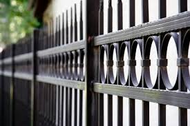 garden design with decorative fence panels fencing ideashome