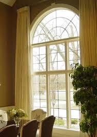 Arch Window Curtains Arch Window In Kitchen